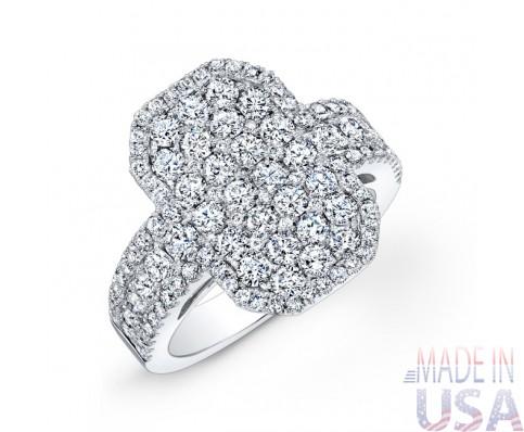Ladies Pavé Diamond Ring