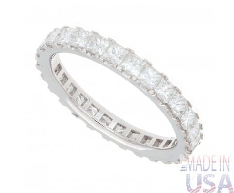 2.00ct Princess Cut Diamond Eternity Band