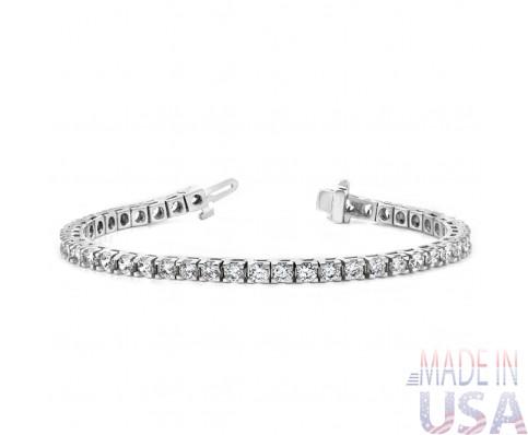 Ladies 3.00ct Diamond Tennis Bracelet