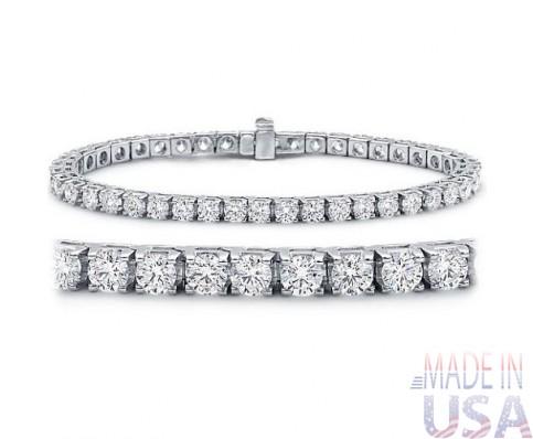 Ladies 5.00ct Diamond Tennis Bracelet
