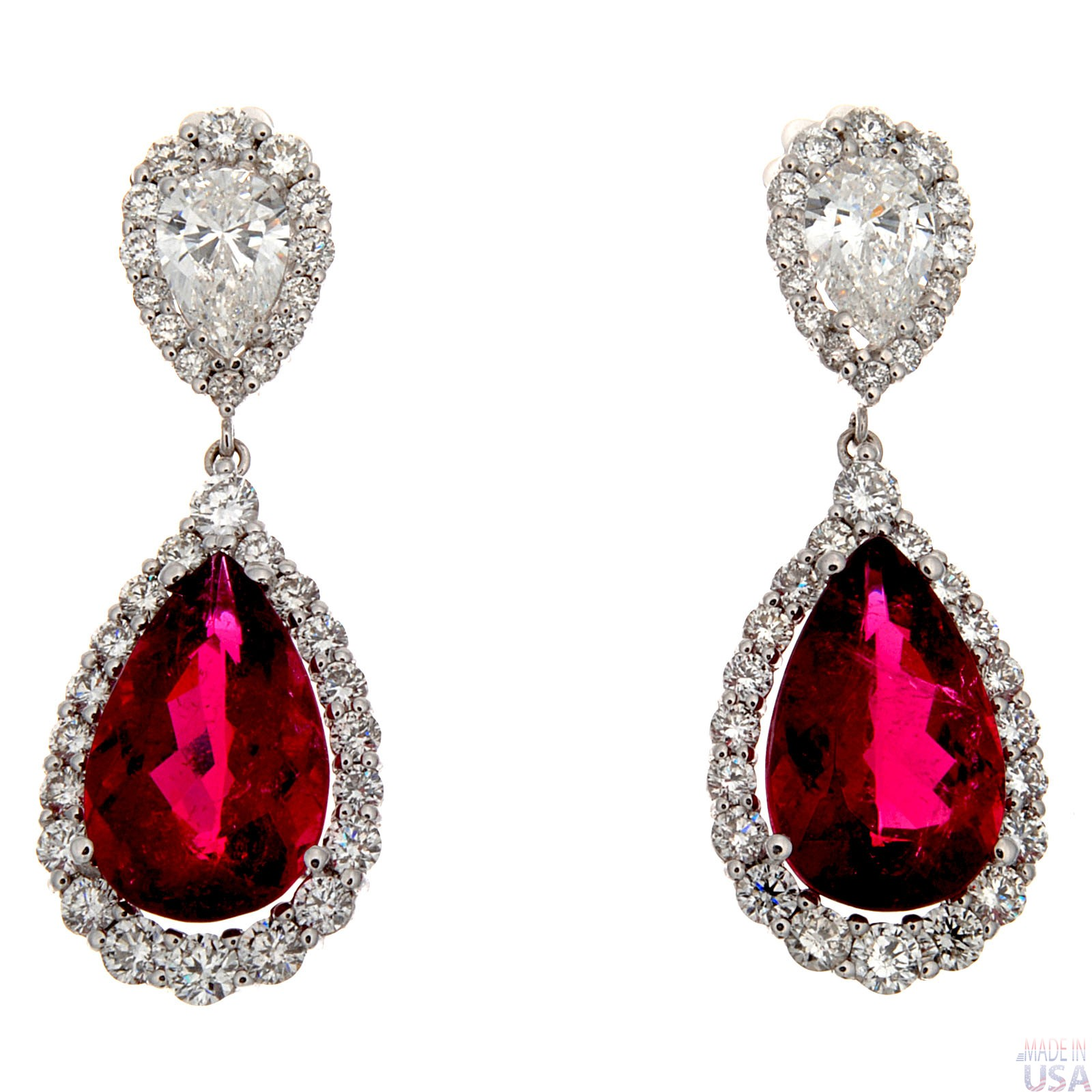 winsor white ruby jewellery and bishop gold earrings diamond