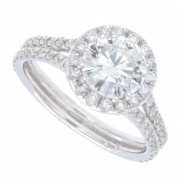 1.66ct Certified Round Brilliant Diamond Engagement Ring