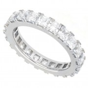 3.30ct Princess Cut Diamond Eternity Band
