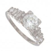 1.25ct Round Cut Certified Diamond Engagement Ring