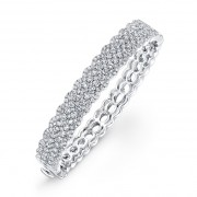 Ladies Pavé Diamond Bracelet
