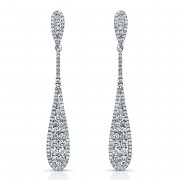 Ladies Diamond Drop Earrings