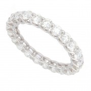 2.00ct Round Brilliant Diamond Eternity Band
