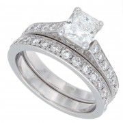 2.00ct Radiant Cut Diamond Engagement Ring