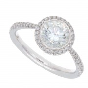 1.25ct Round Brilliant Cut Diamond Engagement Ring