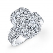Ladies Pavé Diamond Ring