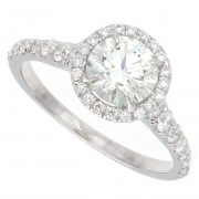 1.50ct Round Brilliant Diamond Engagement Ring