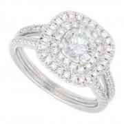 1.50ct Round Diamond Engagement Ring