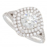 1.50ct Round Brilliant Cut Diamond Engagement Ring