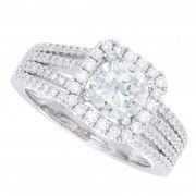 1.77ct Round Brilliant Cut Certified Diamond Engagement Ring